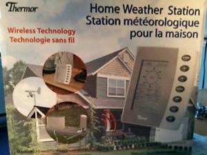 Station météorologique pour maison. Neuf encore dans la boîte