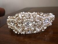 Bridal Hair Band / Head Piece, NEW