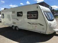 ☆ 2010/11 LUNAR DELTA RS TWIN AXLE LUXURY FIXED BED ☆ 4 BERTH TOURING CARAVAN ☆