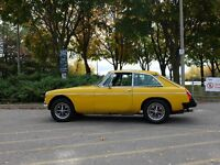 1978 RHD MGB GT for sale. $5800 OBO.