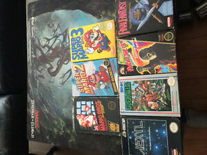 NES and Genesis Games