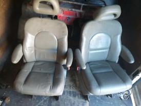 Campervan seats