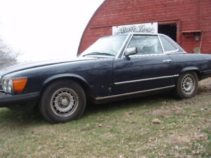 1981 Mercedes 380 SL Project
