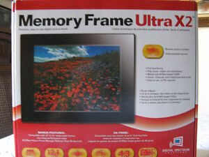 Photos Memory Frame Ultra X2