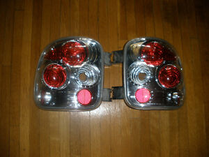 GMC and CHEV Full Size Stepside Pickup Custom Tail Lights  Mint