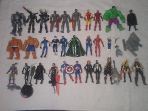 Avengers/Fantastic Four/Spiderman action figures