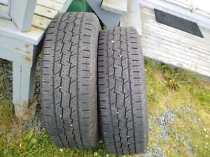 FS: A pair of 245 75 17 Goodyear Grabbers