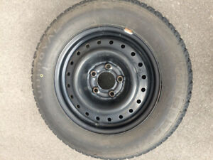 FOR SALE - set of 4 winter tires with steel rims