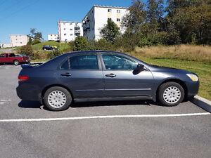 2004 Honda Accord Sedan car starter and 8 tires all on rims