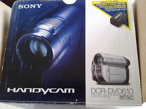 Sony Camcorder for sale (new) never used.