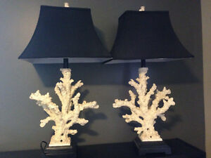 Coral-look Lamps