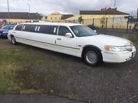 LINCOLN TOWNCAR LIMOUSINE LONG MOT READY TO WORK 10 SEATER *VERY CHEAP BUSINESS OPPORTUNITY *