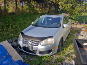 two 2006 Jetta tdis for part out