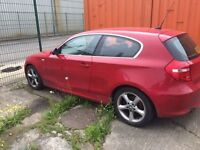 Breaking 2008 BMW 1 series 1.6 petrol all parts available