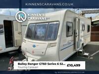 Bailey Ranger GT60 520/4 4 Berth Touring Caravan - Fixed Bed - Motor Mover