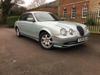 1999 Jaguar S-TYPE 3.0 auto V6 1 OWNER,70300 MILES,FULL S/H