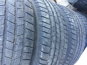 265/70R17 MICHELIN 10PLY TIRES WITH DODGE 8BOLT RIMES