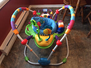 Baby Einstein Musical Motion Jumperoo- Folds, Musical, Heights