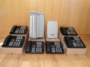 Nortel Norstar 6 telephone caller ID voice mail system