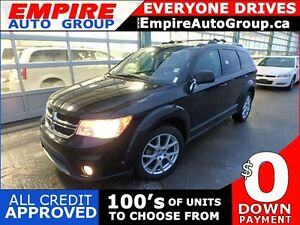2013 DODGE JOURNEY SXT * SUNROOF * HEATED SEATS * 7 PASS * LOW K