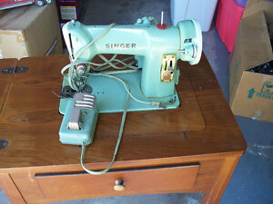 singer 185j sewing machine  -- great for upholstery