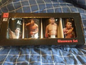 Muhammad Ali Glassware Set