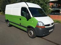 NO VAT. Renault Master 2.5TD 100 ( MWB ) MM35dCi (MWB) SERVICED UP TO 127 K.