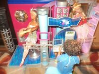 Barbies/furnitures/houses $150.00