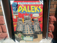 Dr. Who Hardmount Posters SET