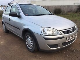 2005 Vauxhall Corsa 1 Litre 5 Door 77K Miles