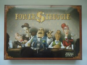 Power struggle board game NEW sealed