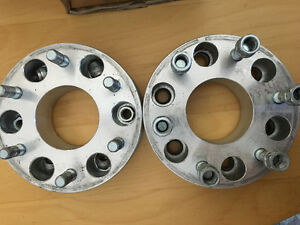 Rough country GM Chevy pickup 2 inch wheel spacers