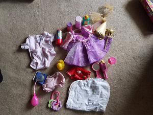 Assorted Doll clothing/accessories