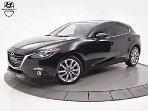 2016 Mazda Mazda3 Sport GT MANUELLE A/C TOIT OUVRANT GPS MAGS