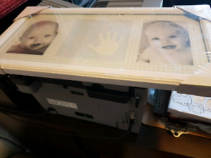 For sale baby picture frame.