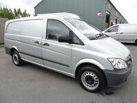 2011 Mercedes-Benz Vito 110 CDi LWB, FSH, Met. Silver, NO VAT, VERY TIDY
