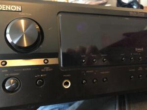 New Denon Stereo receiver Model DRA-397