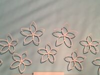 Wall flower decorations (15 flowers)