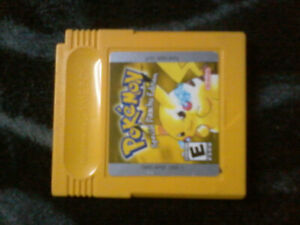 Pokemon yellow  for gameboy color : special pikachu edition