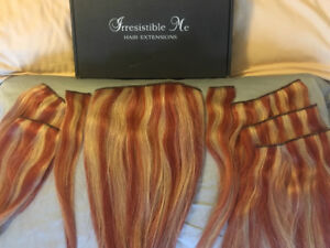100% Human Remy Hair Extensions 14 ins.