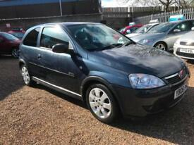 2006 Vauxhall Corsa 1.2i 16v ( a/c ) SXi+ Blue, 3dr Hatch, **ANY PX WELCOME**