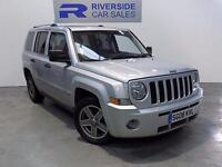 2008 Jeep Patriot 2.0 CRD Limited 5dr 5 door Hatchback