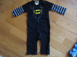 Costume d'Halloween bébé- Batman- (12-18 months)