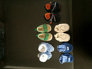 Boys Shoes: Variety of Sizes 6months and under