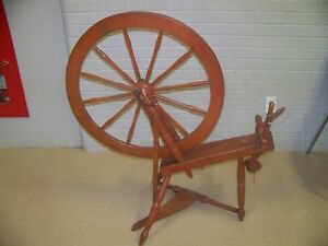 Spinning Wheel and Banker's Chair