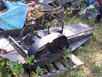 Free and Cheap sleds for riding, parts or restoration