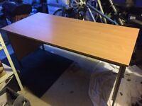Beautiful dark beech colour desk