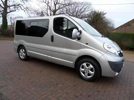 Vauxhall Vivaro Automatic 5 Seat Ricon Lift Wheelchair Disabled Access WAV MPV,