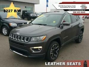 2017 Jeep Compass Limited  *$227 b/w*