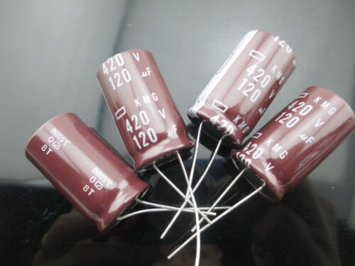 40pcs NCC Nippon Chemi-Con KMG 150mfd 400V 150UF electrolytic Capacitor caps